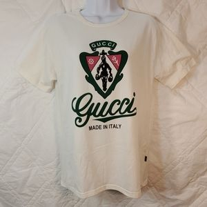 Gucci white tee in size Medium